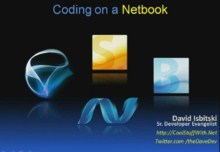 Coding .NET on a Netbook