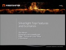 Silverlight FireStarter (Part 3 of 9): Key Silverlight Scenarios