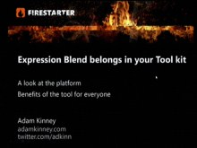Silverlight FireStarter (Part 4 of 9): Expression 3 Overview