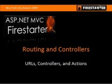 ASP.NET MVC FireStarter: Routing and Controllers