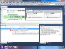 Parallel Debugging in Visual Studio 2010 - MSDN mag companion