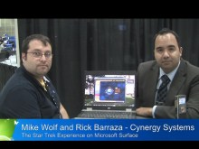 Pete at PDC09: Rick Barraza and Mike Wolf - Star Trek Experience