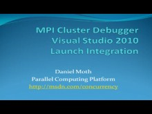 MPI Cluster Debugger Visual Studio 2010 Launch Integration