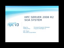 Windows HPCS 2008R2 Beta1:  HPC Service Oriented Programming Model