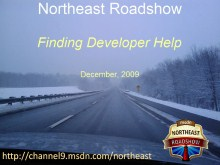 Northeast Roadshow: Finding Developer Help