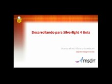 Silverlight 4 Beta. Soporte para micrófono y WebCam
