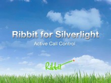 Ribbit for Silverlight - Active Call Control