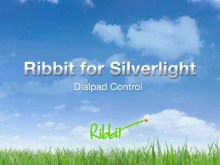 Ribbit for Silverlight - Dialpad Control