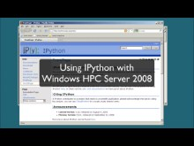 Open source HPC code Episode 1.1:  IPython Grid Engine running on Windows HPC Server 2008