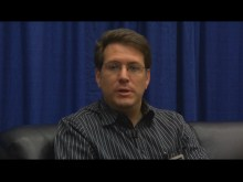 Gabriel Torok from PreEmptive Solutions talks with Murray Gordon at PDC 2009