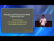 Managing and Sharing Rich Media in SharePoint 2010