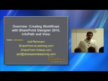 Overview: Creating Workflows with SharePoint Designer 2010, InfoPath 2010 and Visio 2010