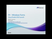 F# - Hello Windows Forms