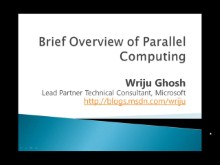 Overview of Parallel Computing in Visual Studio 2010