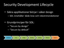 MSDN TV - Security Development Lifecycle