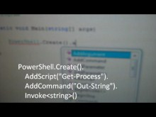 How to Embed PowerShell Within a C# Application