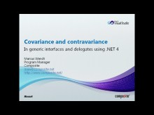 Covariance and Contravariance in .NET 4.0