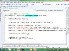 Integrating with Shell Libraries, Part 1