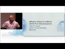 What's new in Office 2010 for Developers by John Durant