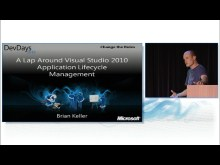 A Lap Around Visual Studio 2010 Application Lifecycle Management