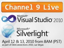 Channel 9 Live at Visual Studio 2010 and Silverlight 4 Launch