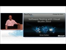 Software Testing with Microsoft Visual Studio 2010 Part 2: Making it Real