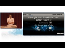 Silverlight and SharePoint 2010 better together by Jan Tielens