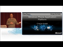 Overview of the Windows Phone 7 Application Platform