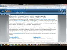 Welcome to the Open Government Data Initiative (OGDI)