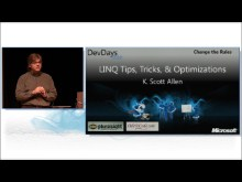 LINQ - Tips, Tricks and Optimizations by Scott Allen