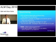 ALMday session 5 - Opsummering