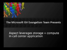 Aspect leverages storage + compute in call center application