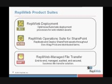 RepliWeb Eases Staging-to-Production Deployment of SharePoint 2010