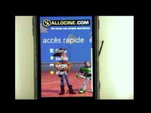 AlloCine sur Windows Phone 7