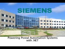 SIEMENS: Powering Postal Automation Systems with .NET