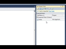 How Do I: Test Impact Analysis in Visual Studio 2010