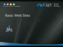 WIF Workshop 2: Lab on Basic Web Sites
