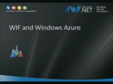 WIF Workshop 10: Lab about WIF and Windows Azure
