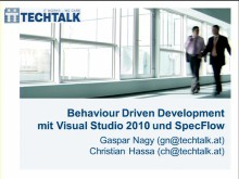 MSDN Briefing: Behavior Driven Development - Part 1 - Product Planning