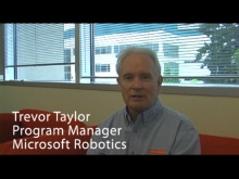 Microsoft Robotics Developer Studio update with Trevor Taylor