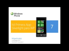 Mi primera aplicación para Windows Phone 7 usando Silverlight