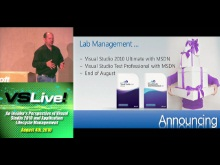 VSLive 2010 Day 2 Keynote: An Insider's Perspective of Visual Studio 2010 and Application Lifecycle Management