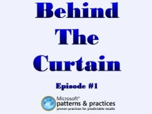 Behind The Curtain - Episode #1