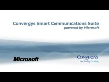 Overview of the Convergys Smart Communications Suite and the Microsoft Partnership
