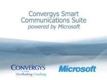 Demonstration of the Convergys Smart Communications Suite Powered By Microsoft