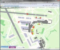 WPF: Monitoring operations at Zürich Airport
