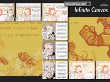 Infinite Canvas: Zoomable Web Comics from Live Labs