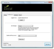 Soocial's New Outlook Client