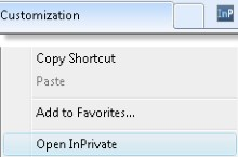 "Add a Custom Toolbar Button for IE8's ""In Private"" Mode"