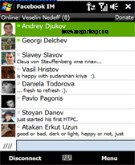 Facebook IM for Windows Mobile